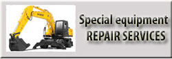4. Special equipments repair